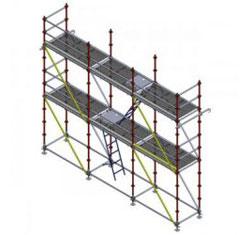 Леса строительные модульные